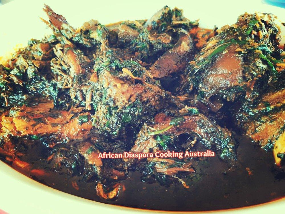 Eru / Ukazi recipe – AFRICAN DIASPORA COOKING AUSTRALIA